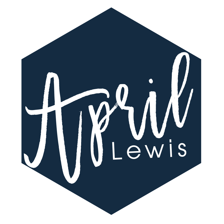 Hexigon logo for April Lewis Business Consultant