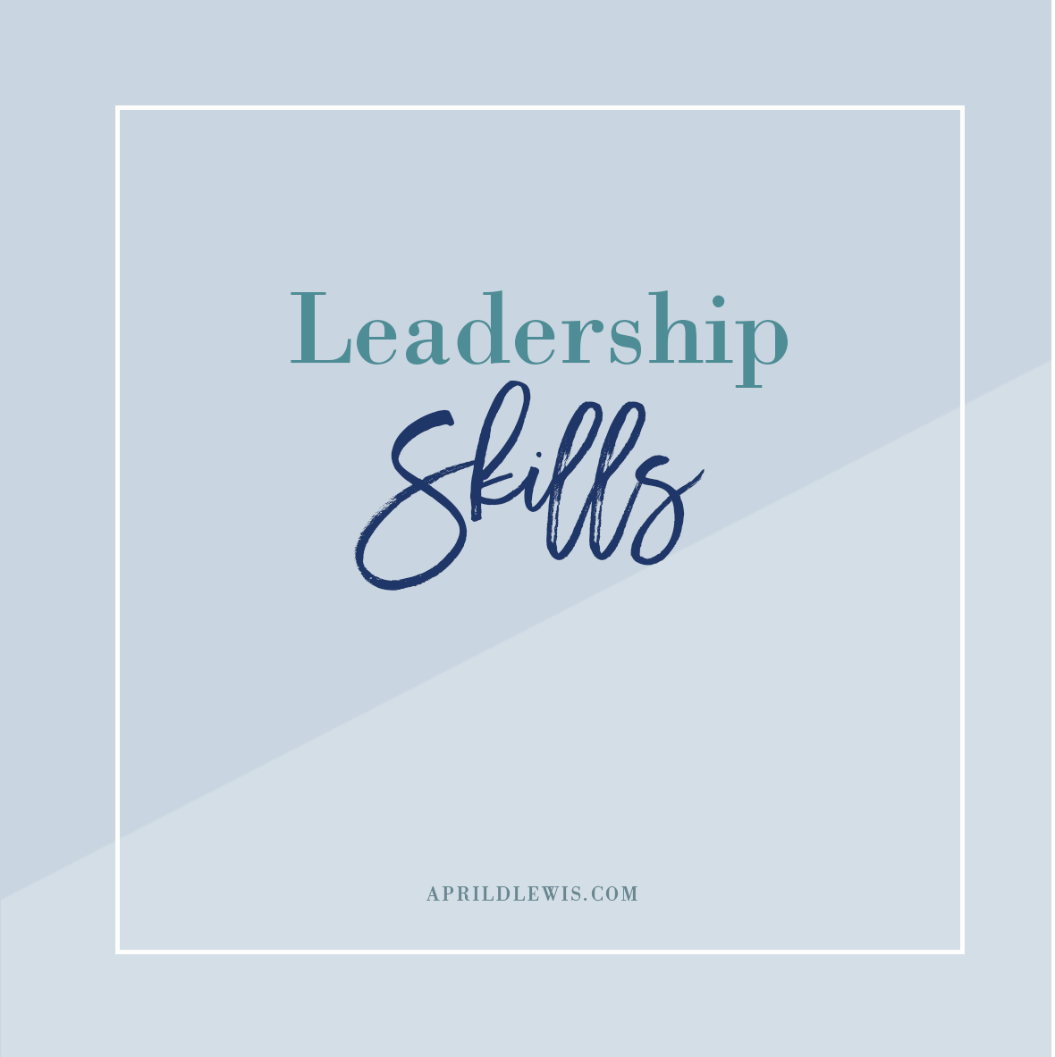 Click here for leadership skills articles