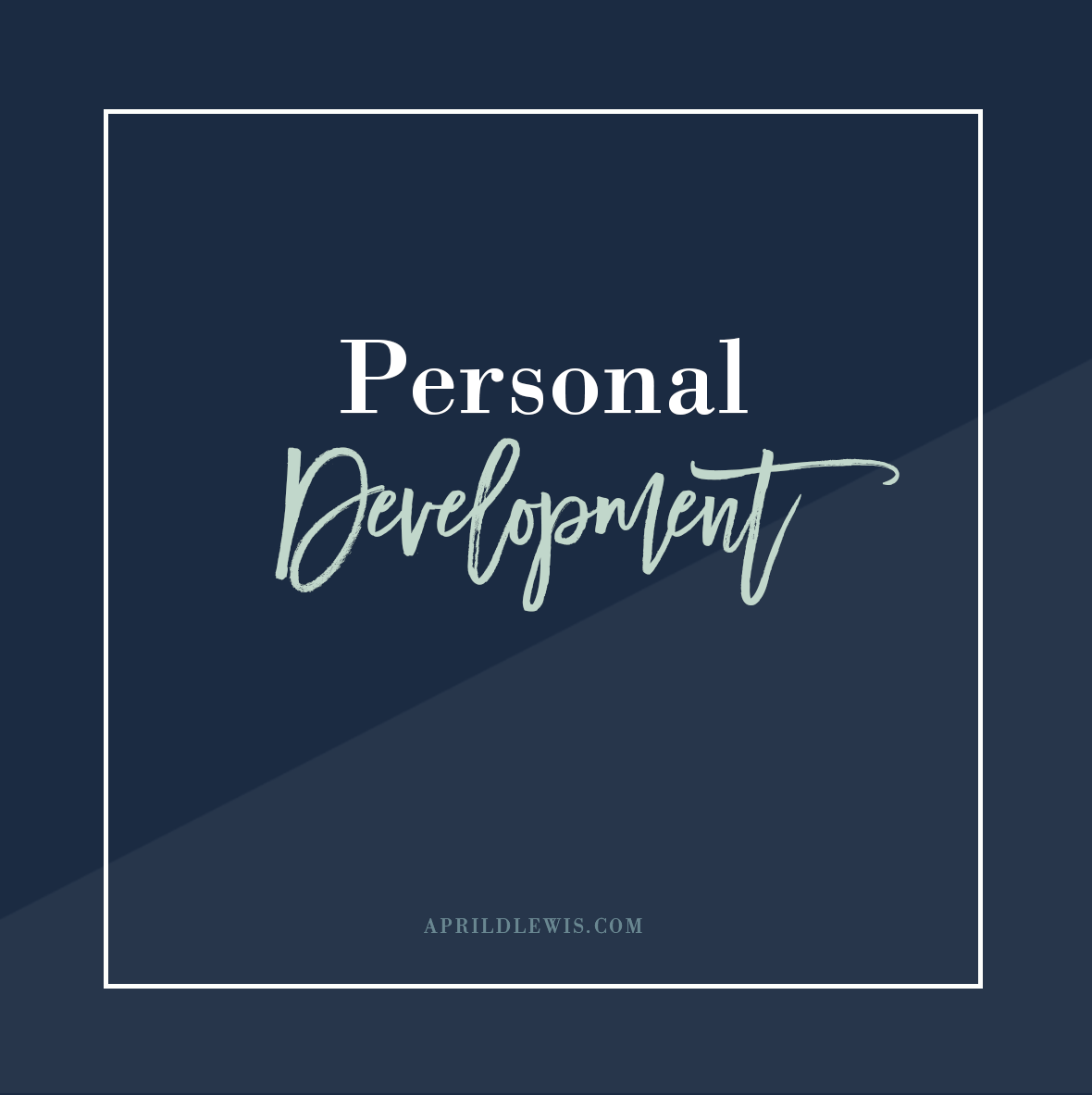 Click here for personal development articles