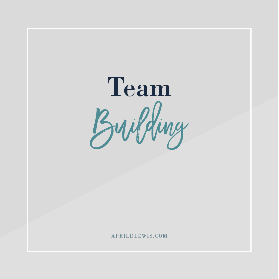 Click here for team building articles